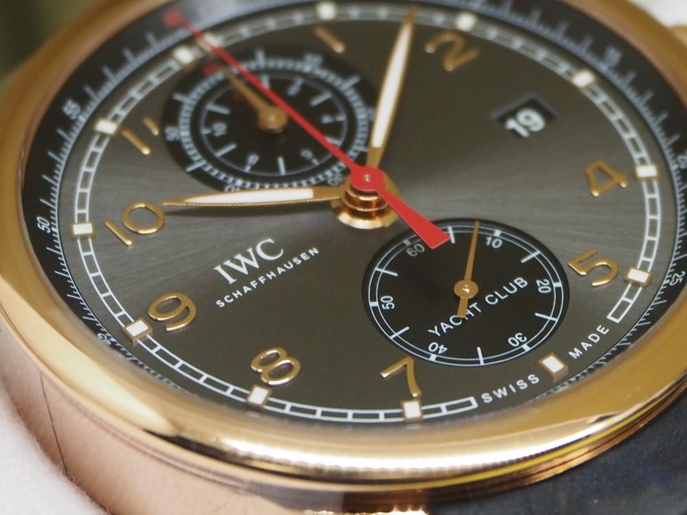 金無垢時計でありながらスポーティ!!大迫力のIWC「ポルトギーゼ・ヨットクラブ・クロノグラフ」入荷しました!