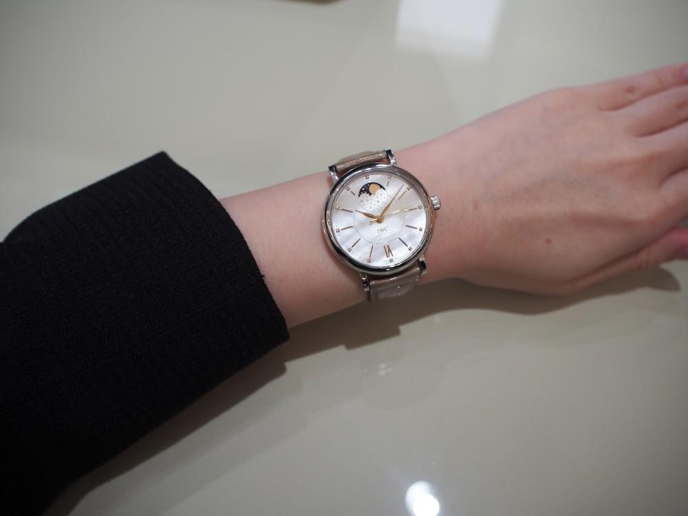 意外と気になる!?スタッフの私物時計を紹介!!~part2-IWC スタッフのつぶやき -P7031140