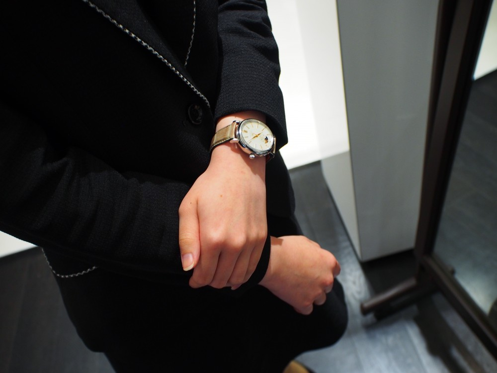 意外と気になる!?スタッフの私物時計を紹介!!~part2-IWC スタッフのつぶやき -P7031154