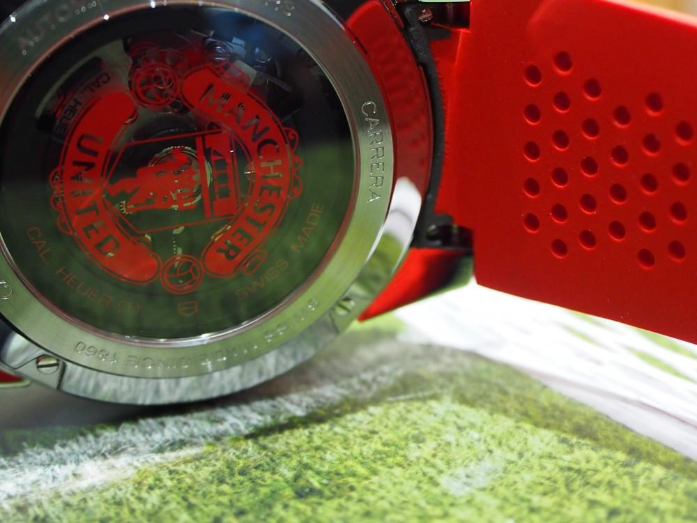 赤い悪魔の限定モデル TAG Heuer「カレラ キャリバー ホイヤー01 マンチェスター・ユナイテッド スペシャルエディション」-TAG Heuer -P8021611
