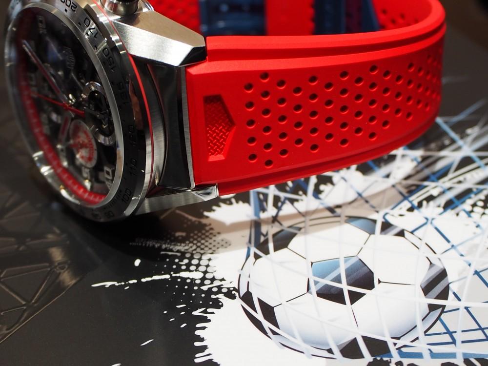 赤い悪魔の限定モデル TAG Heuer「カレラ キャリバー ホイヤー01 マンチェスター・ユナイテッド スペシャルエディション」-TAG Heuer -P8021614