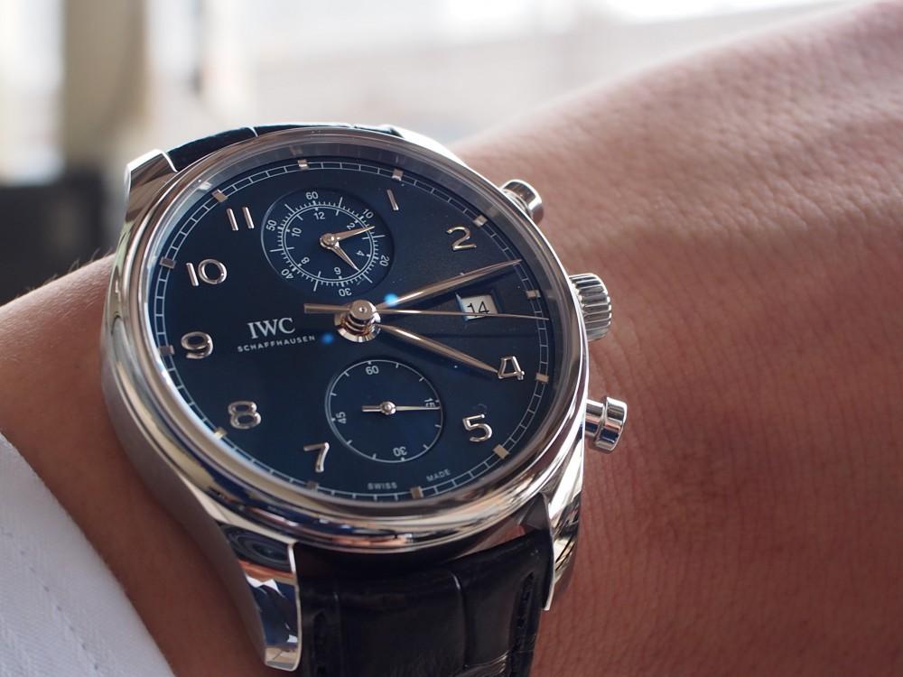 長く付き合える時計って?人気のIWC ポルトギーゼ・クロノグラフ・クラシック IW390303