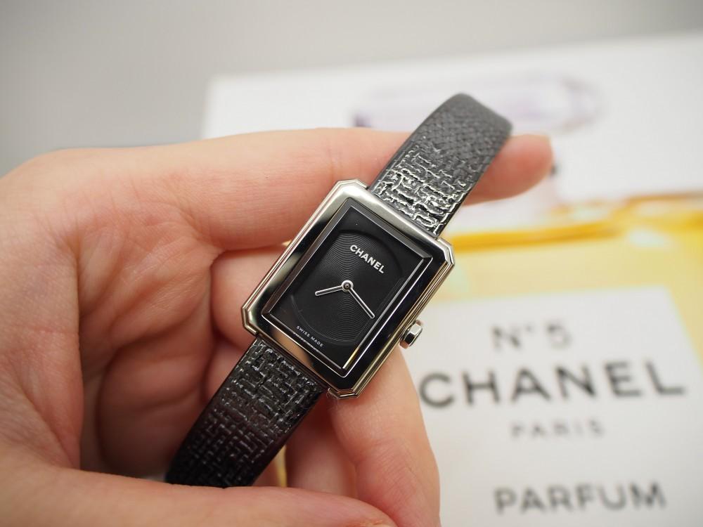 珍しいステンレスブレスレットの時計「ボーイフレンド ツイード」-CHANEL フェア・イベント情報 -P9022117