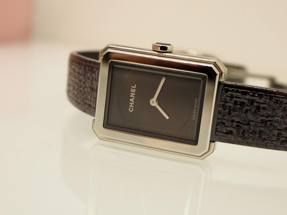 珍しいステンレスブレスレットの時計「ボーイフレンド ツイード」-CHANEL フェア・イベント情報 -P9022119