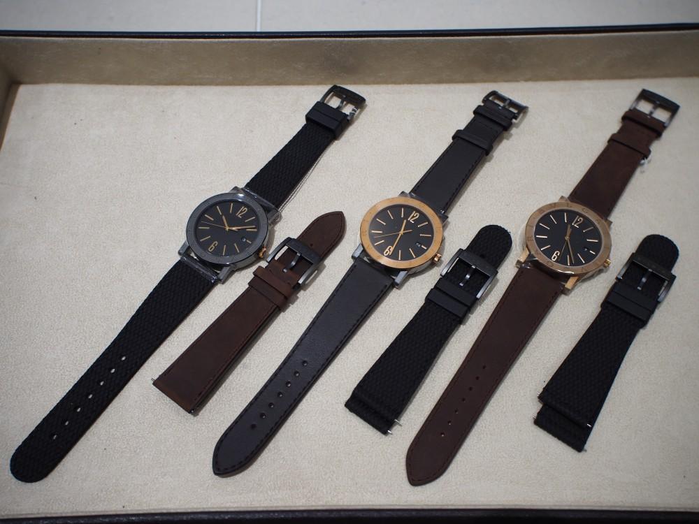 ブルガリのブロンズ時計 3種類揃ってます!「ブルガリ・ブルガリ」はブロンズ素材×自社ムーブメント!-BVLGARI -PA052669