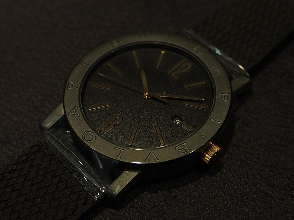 ブルガリのブロンズ時計 3種類揃ってます!「ブルガリ・ブルガリ」はブロンズ素材×自社ムーブメント!-BVLGARI -PA052686