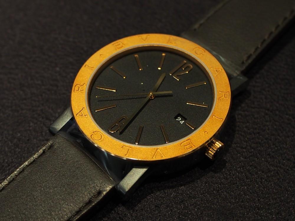 ブルガリのブロンズ時計 3種類揃ってます!「ブルガリ・ブルガリ」はブロンズ素材×自社ムーブメント!-BVLGARI -PA052687