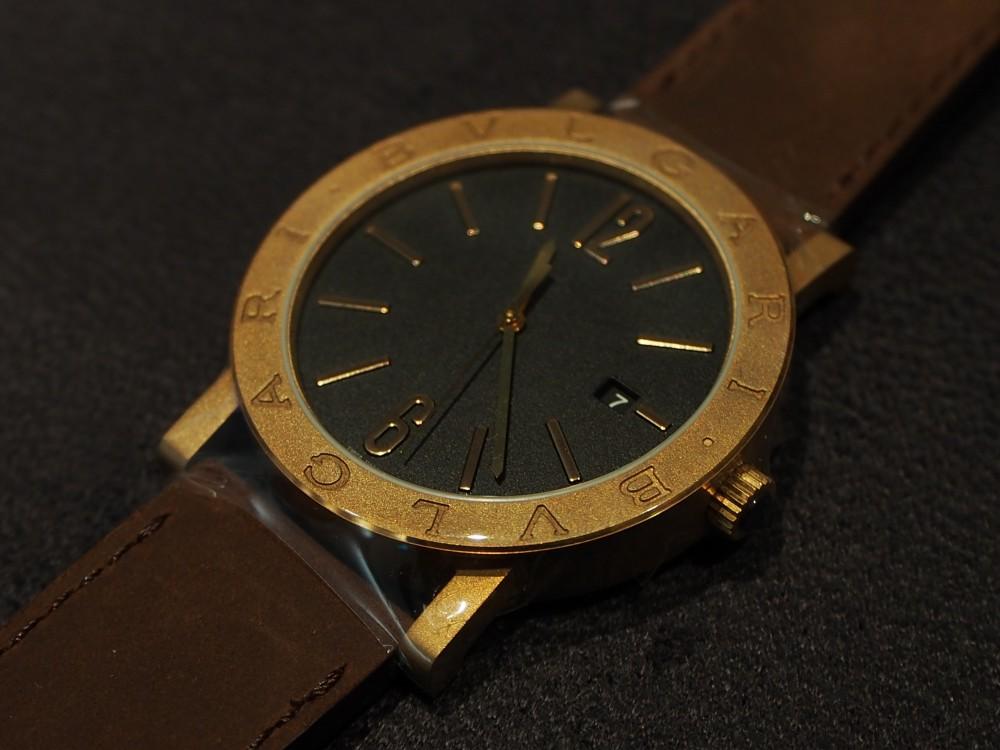 ブルガリのブロンズ時計 3種類揃ってます!「ブルガリ・ブルガリ」はブロンズ素材×自社ムーブメント!-BVLGARI -PA052688