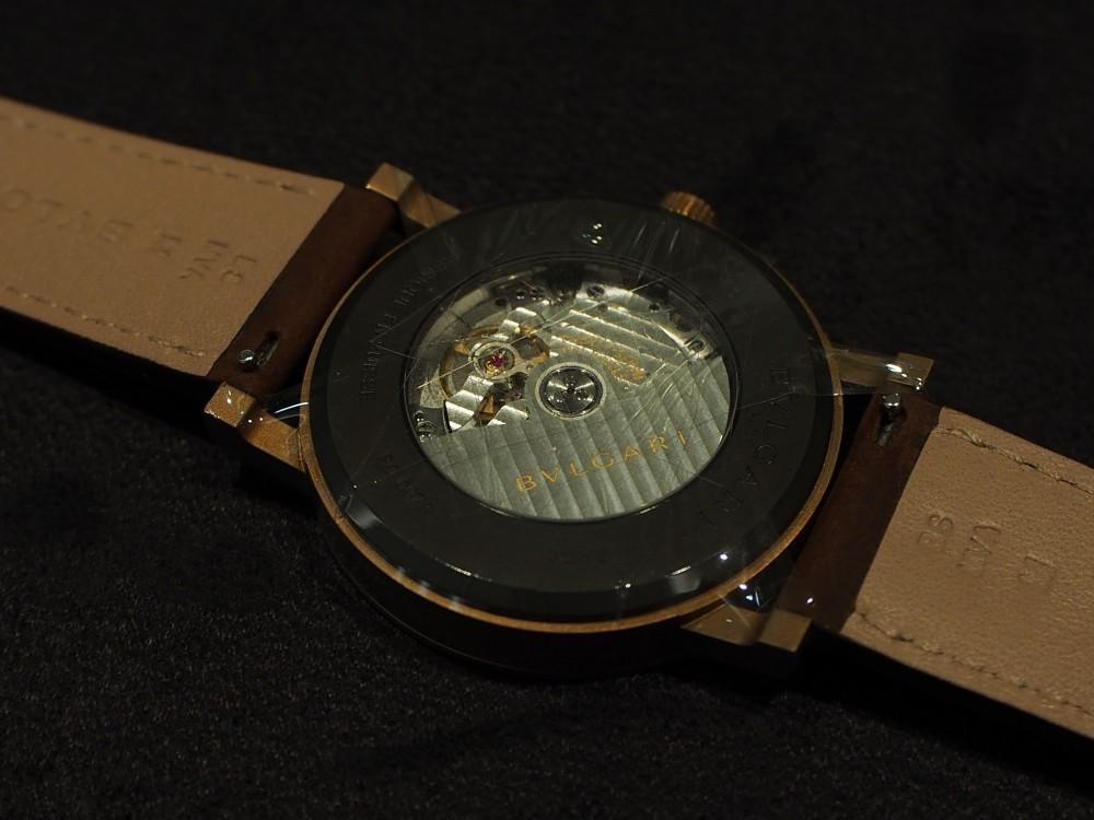 ブルガリのブロンズ時計 3種類揃ってます!「ブルガリ・ブルガリ」はブロンズ素材×自社ムーブメント!-BVLGARI -PA052693