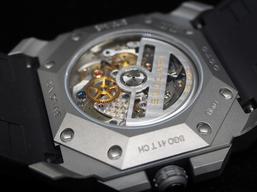 時計好きにおすすめ、高振動クロノグラフ 「ブルガリ・オクト・ヴェロチッシモ」-BVLGARI -PA130192