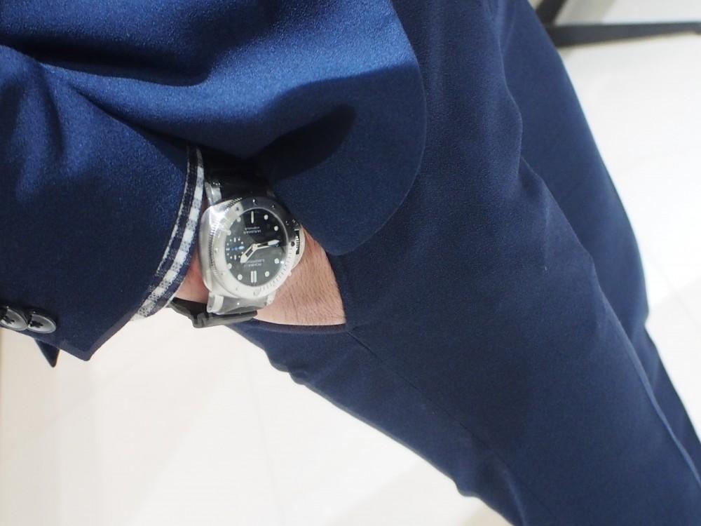 PANERAI「ルミノール サブマーシブル 1950 3デイズ オートマティック アッチャイオ」-PANERAI スタッフのつぶやき -PA130210