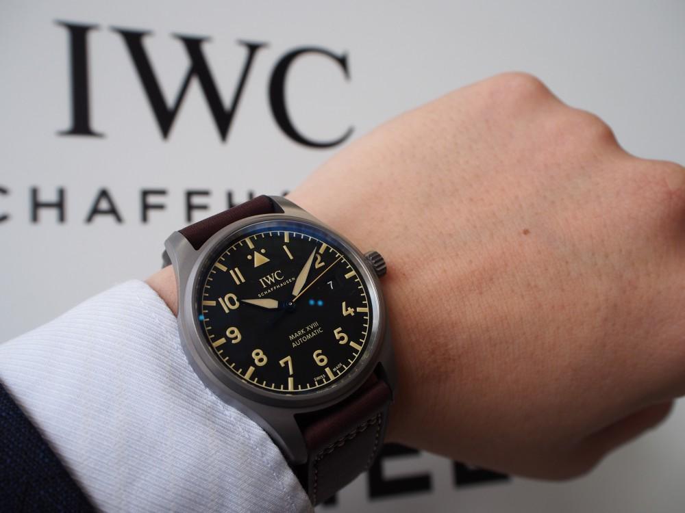 IWC パイロット・ウォッチ・マークXVIII ヘリテージの特別感!! IW327006-IWC -PA220414