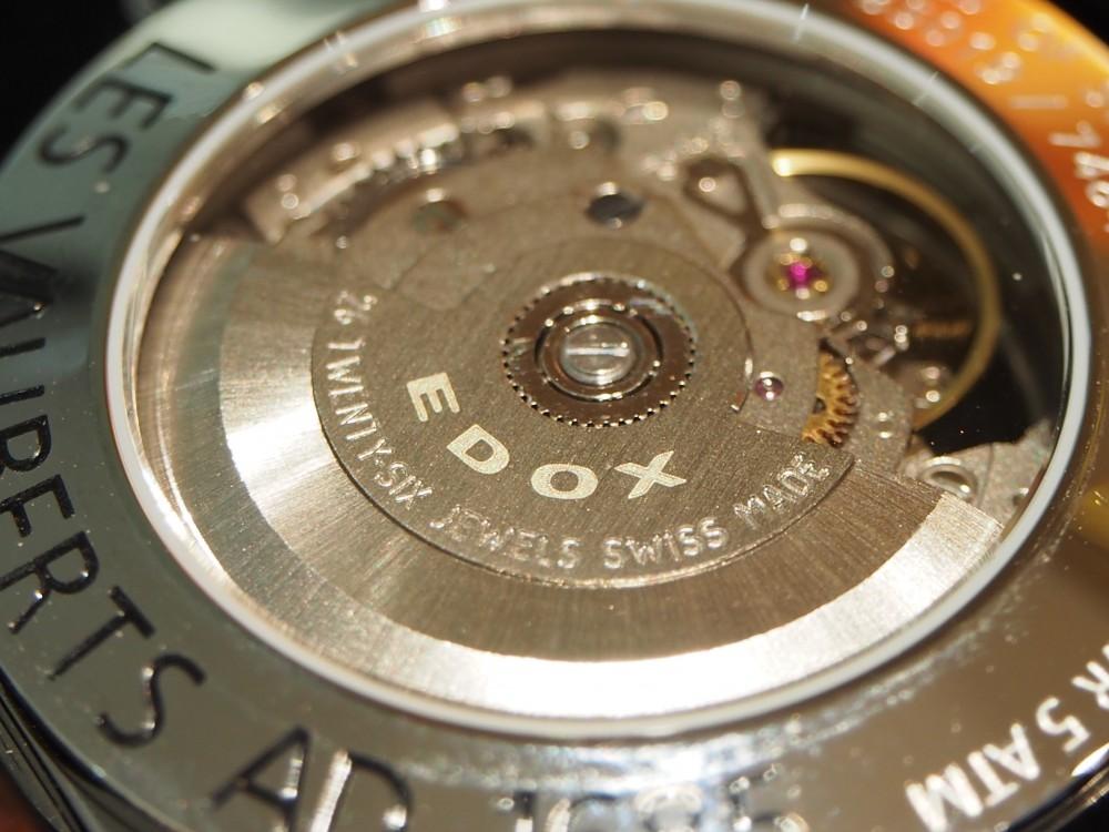 ダイバーズだけじゃない!EDOXのクラシックな時計「レ・ヴォベール オープン ハート オートマチック」-EDOX -PA230028