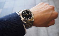 着け心地最高!ステンレスブレスレットの腕時計 ブルガリ・オクト ソロテンポ