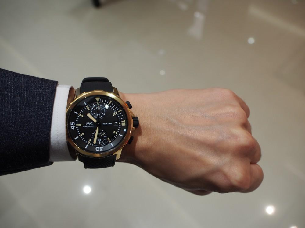 長く付き合える時計といえばブロンズウォッチ 「IWC アクアタイマー・クロノグラフ エクスペディション・チャールズ・ダーウィン」-IWC -PB050327