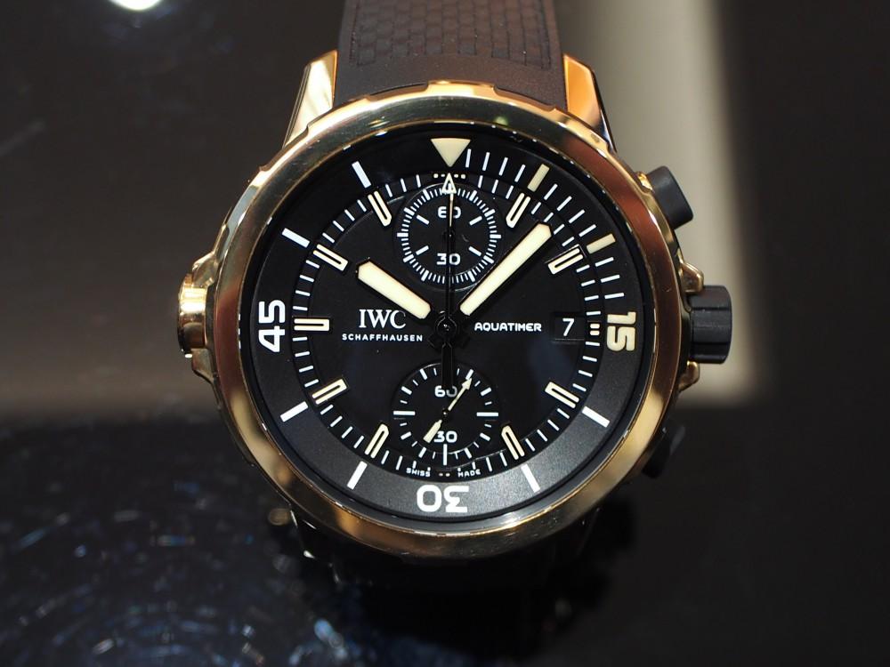 長く付き合える時計といえばブロンズウォッチ 「IWC アクアタイマー・クロノグラフ エクスペディション・チャールズ・ダーウィン」-IWC -PB050331
