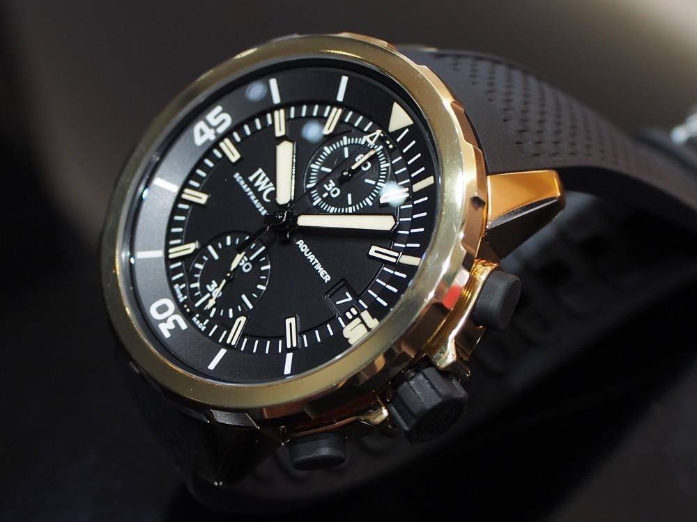 長く付き合える時計といえばブロンズウォッチ 「IWC アクアタイマー・クロノグラフ エクスペディション・チャールズ・ダーウィン」-IWC -PB050332