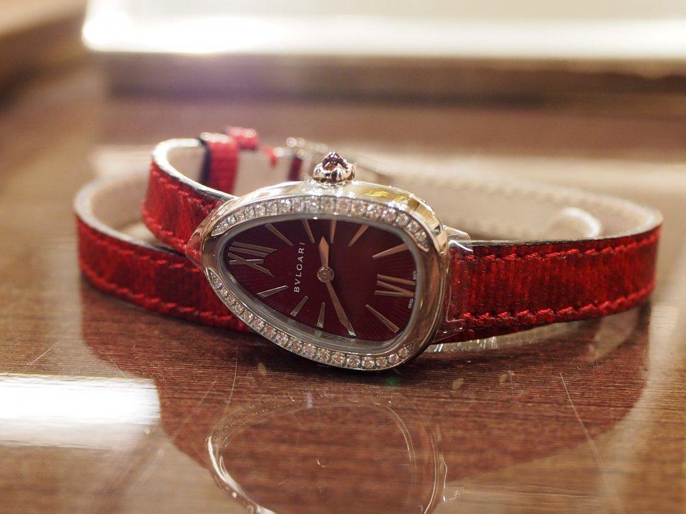 クリスマスプレゼントにピッタリな腕時計 ブルガリ セルペンティ-BVLGARI -PB190169