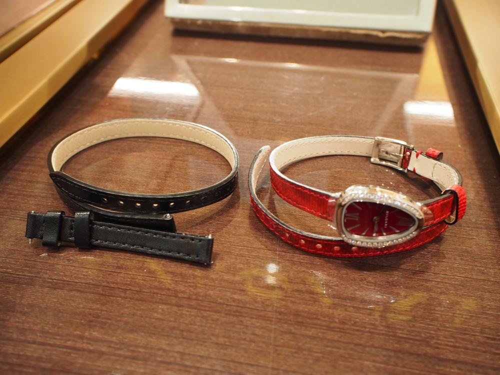 クリスマスプレゼントにピッタリな腕時計 ブルガリ セルペンティ-BVLGARI -PB190174