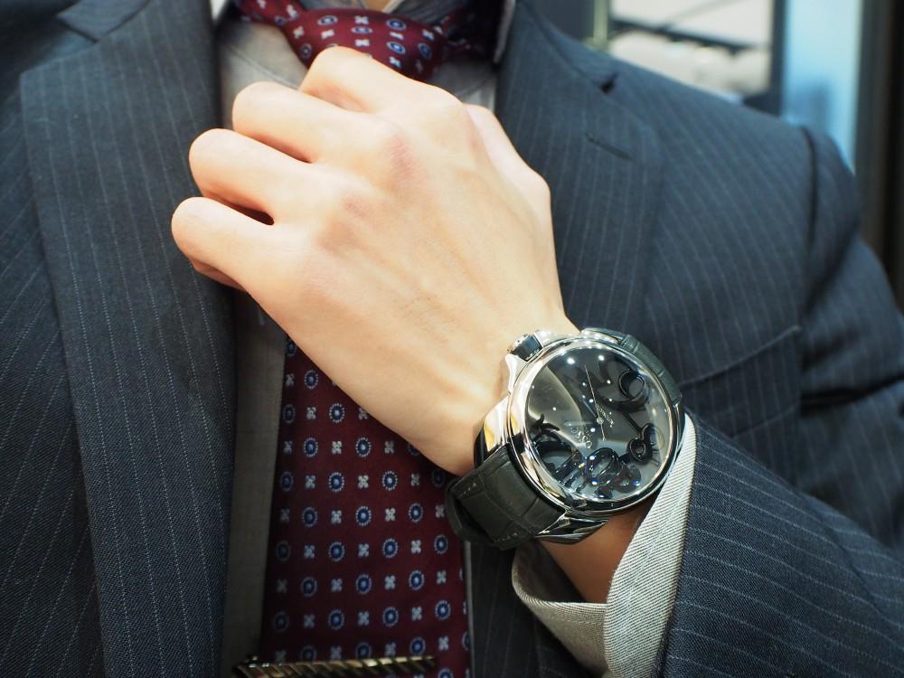 有名人御用達!おしゃれな腕時計 オッソ イタリィ「ヴィゴローソ」-OSSO ITALY -PB290293