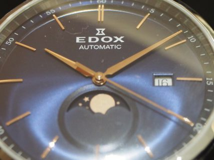 EDOX(エドックス)のムーンフェイズに大注目!レ・ヴォベール