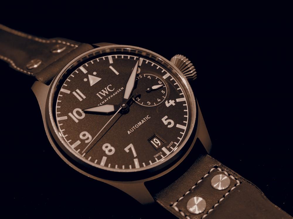 デカ厚なのに軽くて実用的!!IWC ビッグ・パイロット・ウォッチ・ヘリテージ IW501004-IWC -PC210119