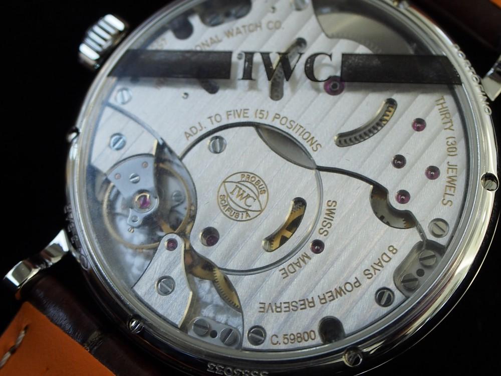 やっとのことでポートフィノの上級モデル入荷!!IWC「ポートフィノ・ハンドワインド・ムーンフェイズ(IW516401)」-IWC -P1120325