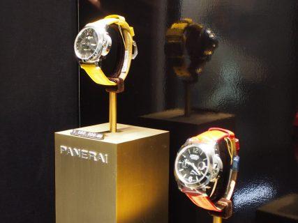 パネライのストラップを替えるだけで雰囲気も様変わり「PAM00531」「PAM00090」