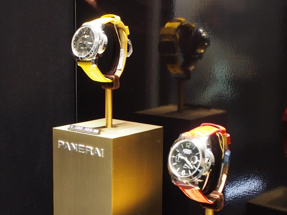 ストラップを替えるだけで雰囲気も様変わり「PAM00531」「PAM00090」-PANERAI -P1120350