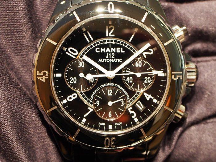 オシャレ男性必見!シャネルの時計が最強!!「J12 クロノグラフ(H0940)」-CHANEL -P1260486-700x525