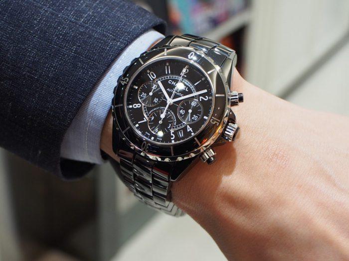 オシャレ男性必見!シャネルの時計が最強!!「J12 クロノグラフ(H0940)」-CHANEL -P1260495-700x525