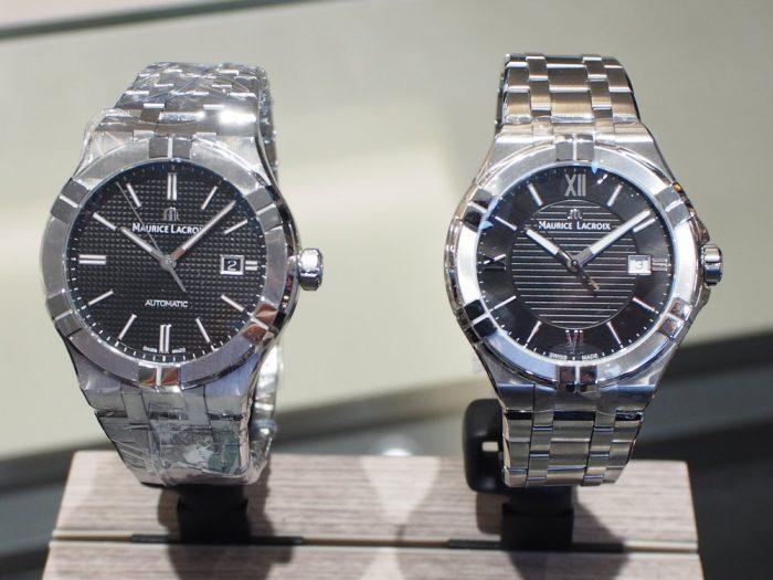 クォーツ式の時計と機械式の時計 「モーリス・ラクロア アイコン」-MAURICE LACROIX フェア・イベント情報 -P2030591-700x525