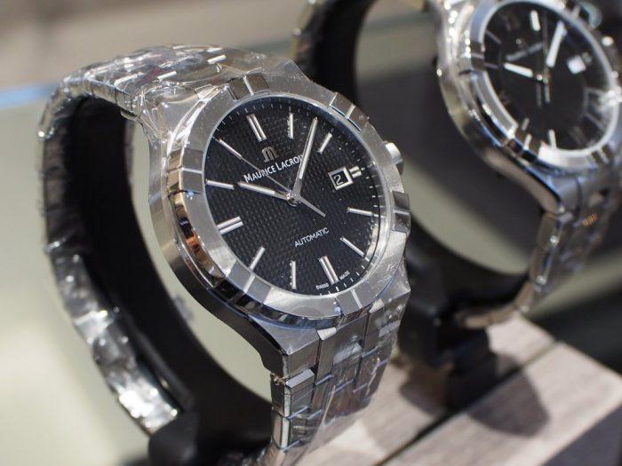 クォーツ式の時計と機械式の時計 「モーリス・ラクロア アイコン」-MAURICE LACROIX フェア・イベント情報 -P2030592-700x525