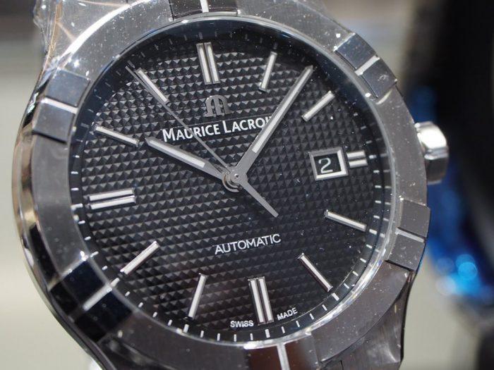 クォーツ式の時計と機械式の時計 「モーリス・ラクロア アイコン」-MAURICE LACROIX フェア・イベント情報 -P2030593-700x525