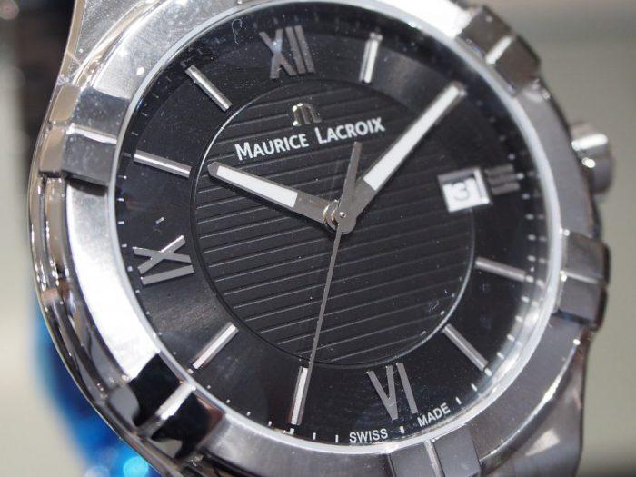 クォーツ式の時計と機械式の時計 「モーリス・ラクロア アイコン」-MAURICE LACROIX フェア・イベント情報 -P2030594-700x525