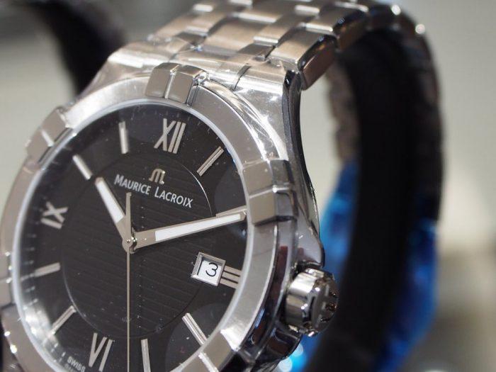 クォーツ式の時計と機械式の時計 「モーリス・ラクロア アイコン」-MAURICE LACROIX フェア・イベント情報 -P2030596-700x525
