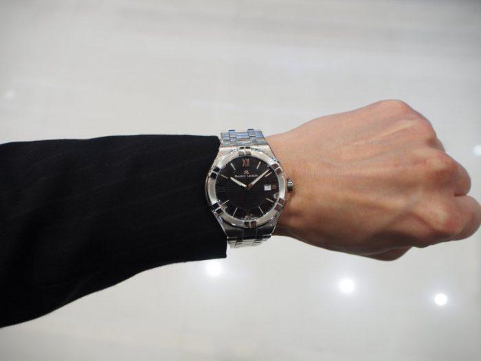 クォーツ式の時計と機械式の時計 「モーリス・ラクロア アイコン」-MAURICE LACROIX フェア・イベント情報 -P2030602-700x525