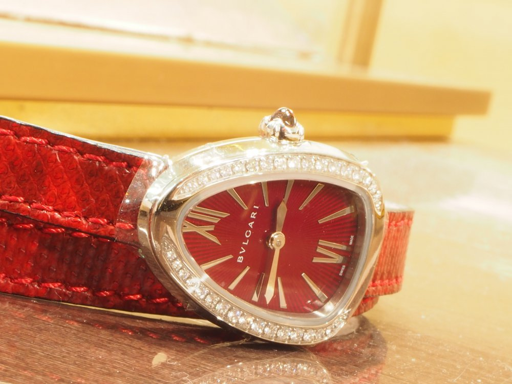 クリスマスプレゼントにピッタリな腕時計 ブルガリ セルペンティ-BVLGARI -PB190171