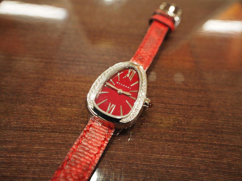 クリスマスプレゼントにピッタリな腕時計 ブルガリ セルペンティ-BVLGARI -PB190172