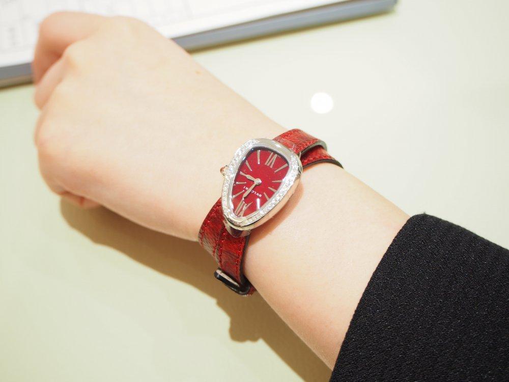 クリスマスプレゼントにピッタリな腕時計 ブルガリ セルペンティ