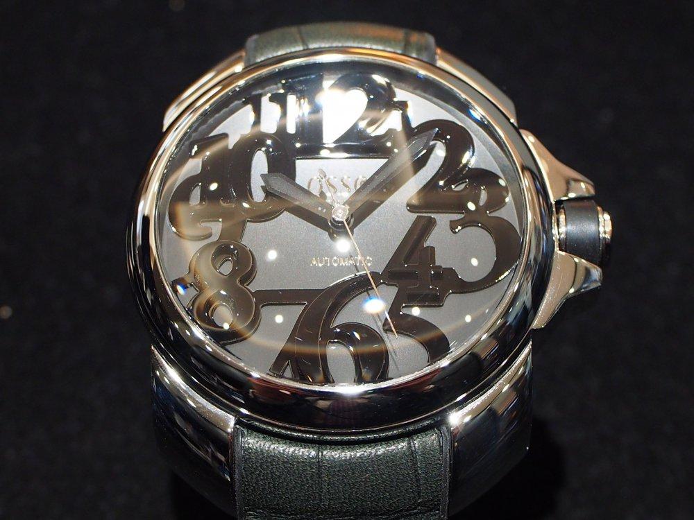 有名人御用達!おしゃれな腕時計 オッソ イタリィ「ヴィゴローソ」-OSSO ITALY -PB290302