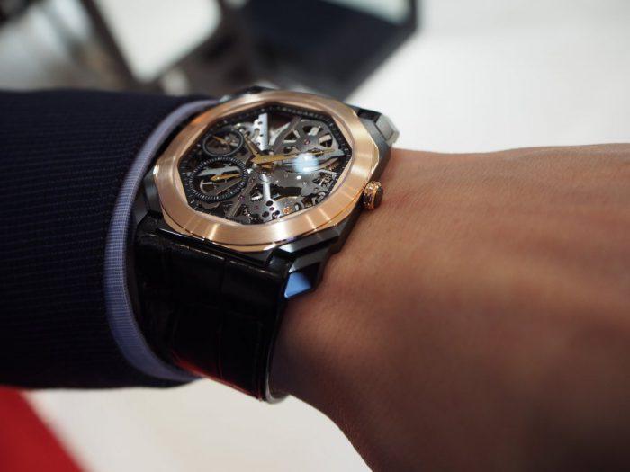 芸術的で豪華な時計と優雅な時間を「ブルガリ オクト フィニッシモ スケルトン」-BVLGARI -P2280251-700x525