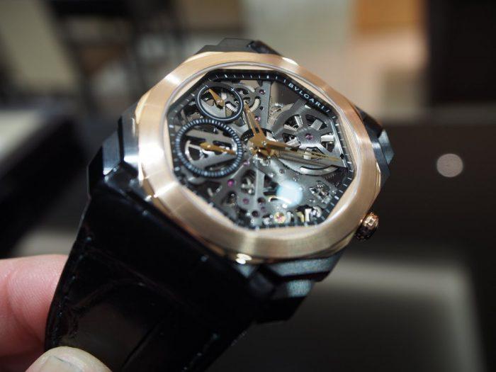 芸術的で豪華な時計と優雅な時間を「ブルガリ オクト フィニッシモ スケルトン」-BVLGARI -P2280259-700x525