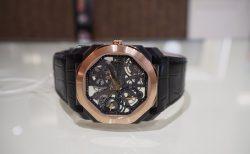 芸術的で豪華な時計と優雅な時間を「ブルガリ オクト フィニッシモ スケルトン」