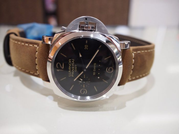 パネライ ルミノール1950 10デイズ GMT オートマティック アッチャイオ / PAM00533-PANERAI -P3020262-700x525