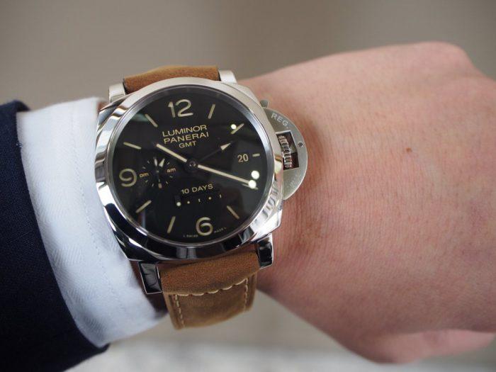 パネライ ルミノール1950 10デイズ GMT オートマティック アッチャイオ / PAM00533-PANERAI -P3020268-700x525