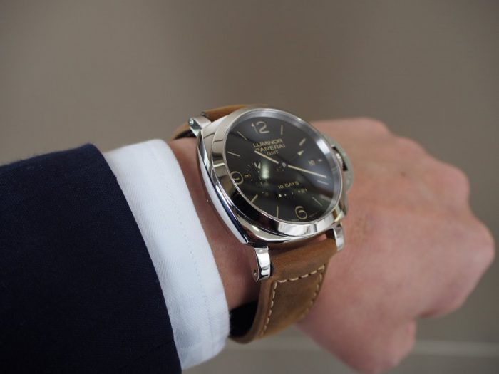パネライ ルミノール1950 10デイズ GMT オートマティック アッチャイオ / PAM00533-PANERAI -P3020269-700x525