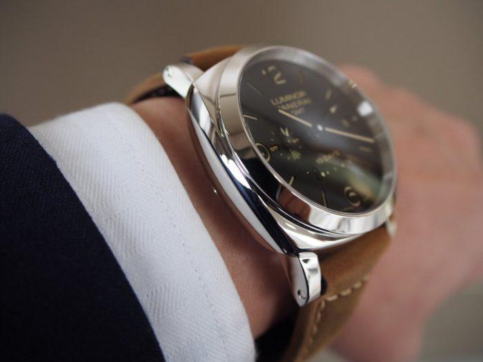 パネライ ルミノール1950 10デイズ GMT オートマティック アッチャイオ / PAM00533-PANERAI -P3020270-700x525