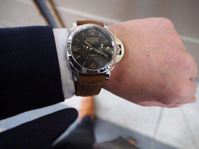 パネライ ルミノール1950 10デイズ GMT オートマティック アッチャイオ / PAM00533-PANERAI -P3020271-700x525