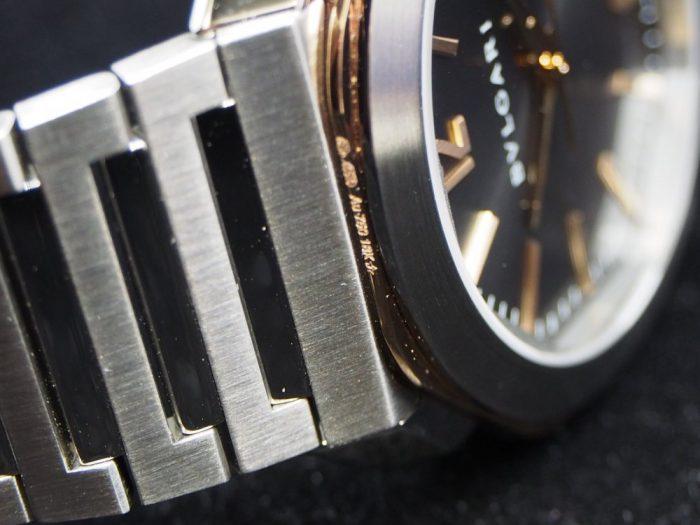 クールなグレー文字盤と18Kピンクゴールドを使用したエレガンスな時計「ブルガリ オクト ローマ」-BVLGARI -P4180021-700x525